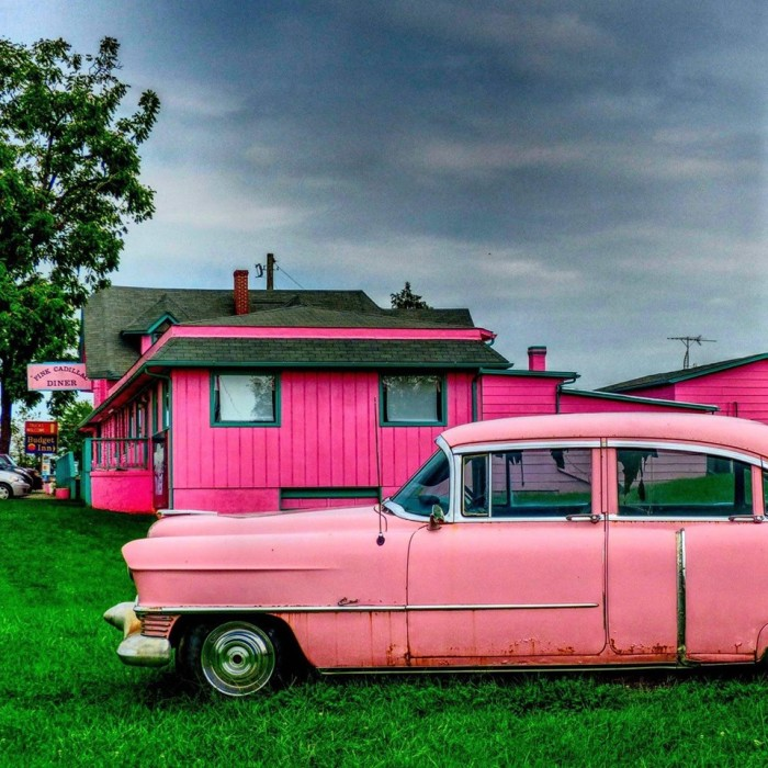 5. The Pink Cadillac Diner, Natural Bridge