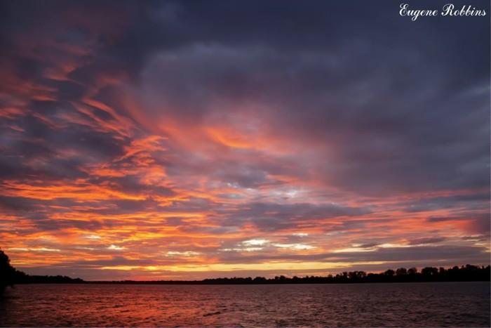 10. The skies at night in Lewisport via Eugene Robbins.