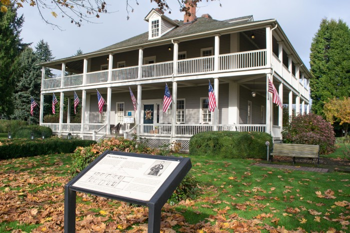 3. Grant House, Fort Vancouver