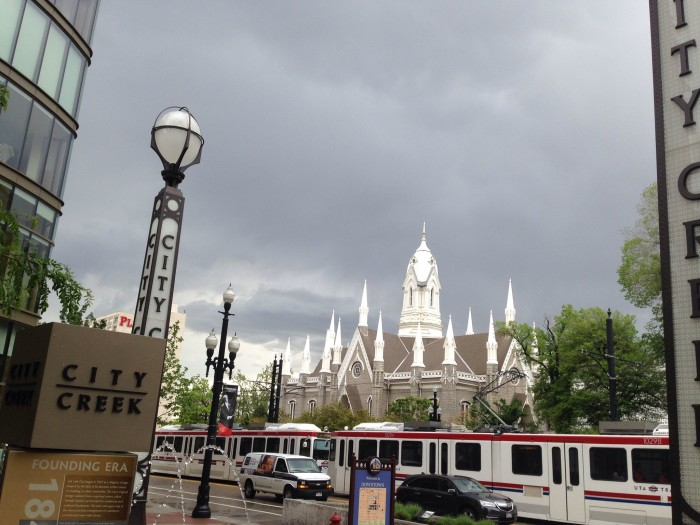 16. This photo of downtown Salt Lake City was submitted by Thomas es Thomas.