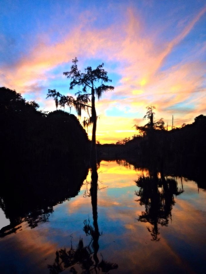 12) Bayou DeSiard Sunset, Monroe, LA by Tom Cathey
