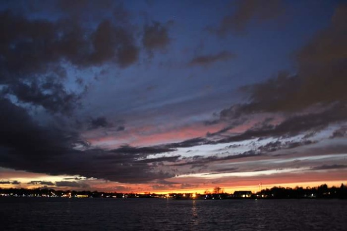 9. Another night shot, this was taken in Toms River by Aaron K. DiRodrico.