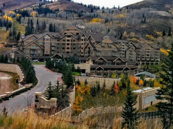 3. Tony Workman shot this photo of Montage at Deer Valley this month.
