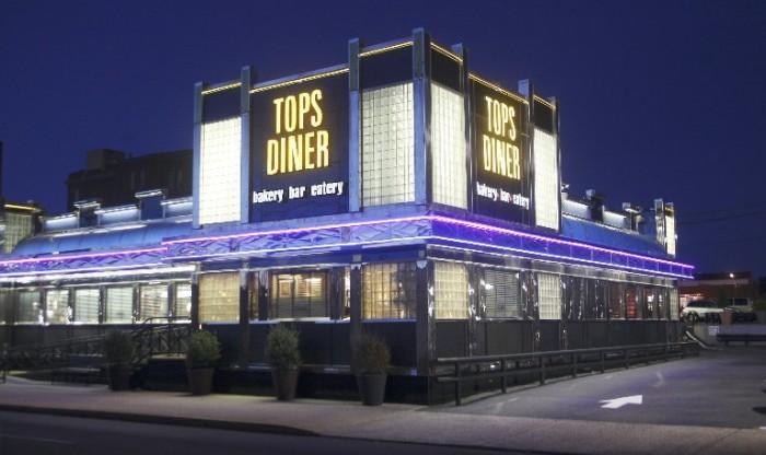 1. Tops Diner, East Newark