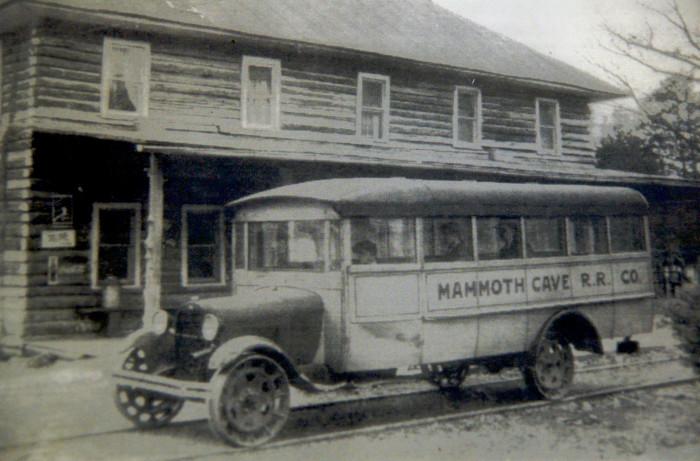 Tour bus.