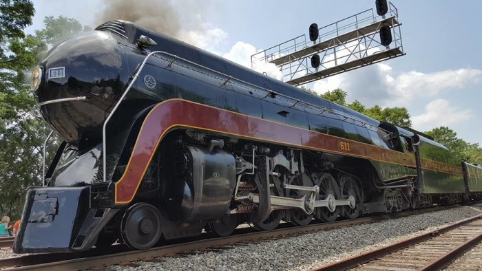 12. Poetry in motion. This shot of the 611 Steam Train at Train Day in Old Town Manassas was submitted by Christopher Quinn.