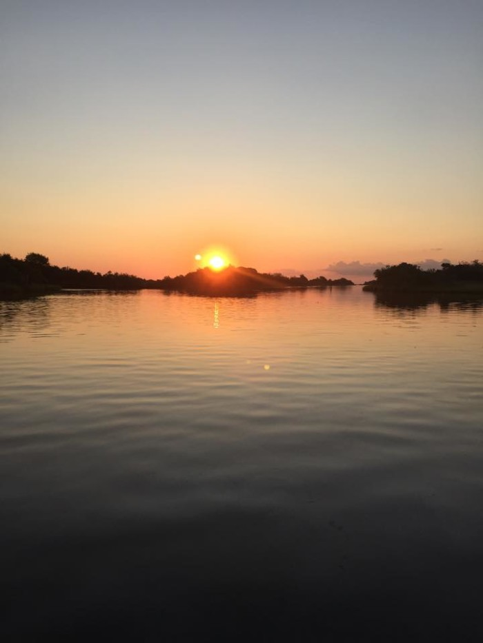 4. Tre' Brown took this picture at Bayou Lafourche.