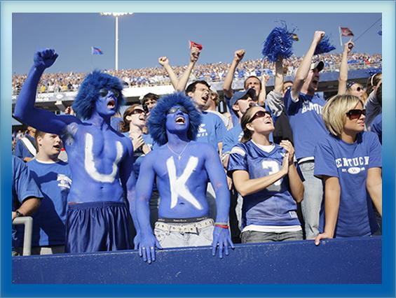 U of K fans.