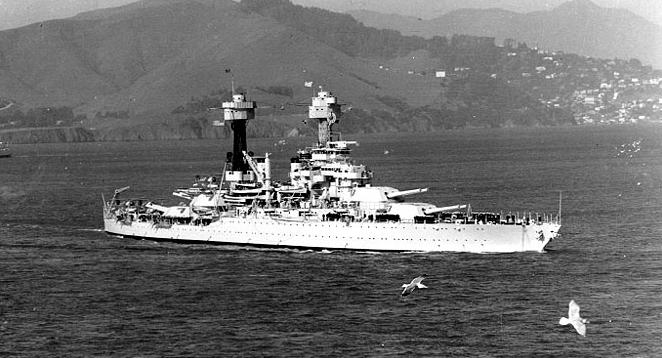 5. Men aboard the USS West Virginia lived for 16 days after the ship sunk.