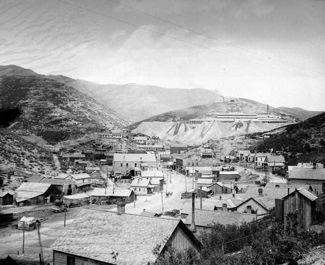 2. Where some Utah men earned a living in 1903.