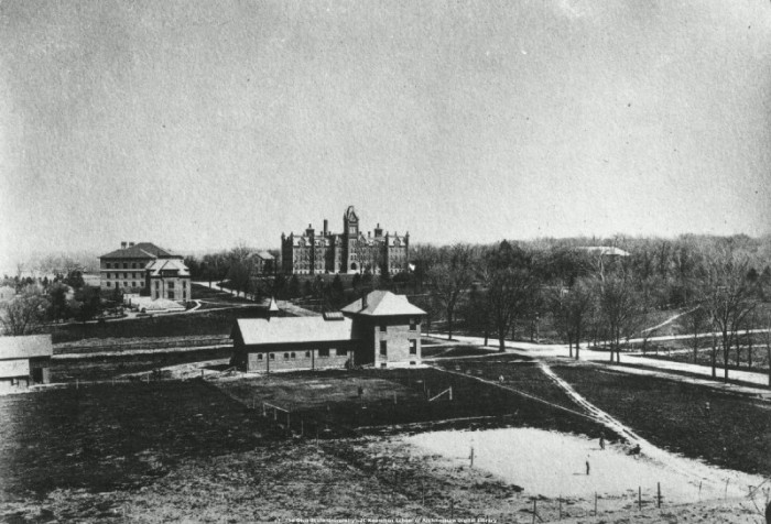 9. Veterinary Hospital at The Ohio State University in Columbus, OH (Circa 1900)