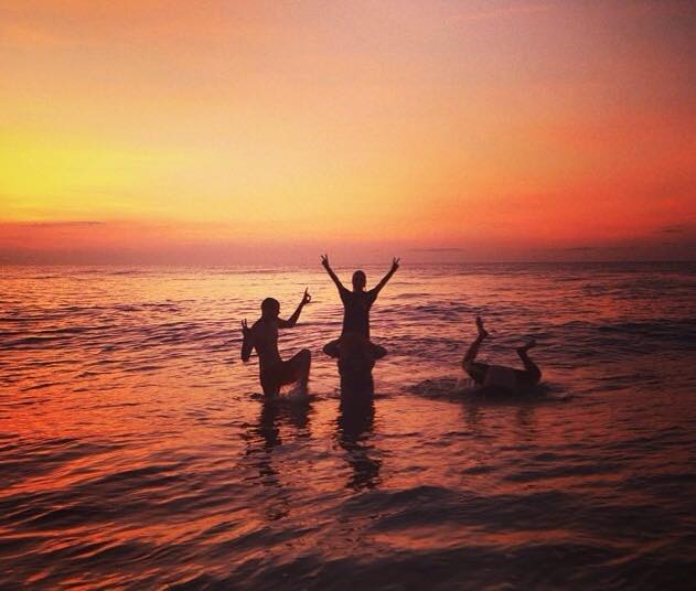 9. This photo in Virginia Beach seems like the perfect way to bid summer farewell, submitted by Robin Miles Kubo.