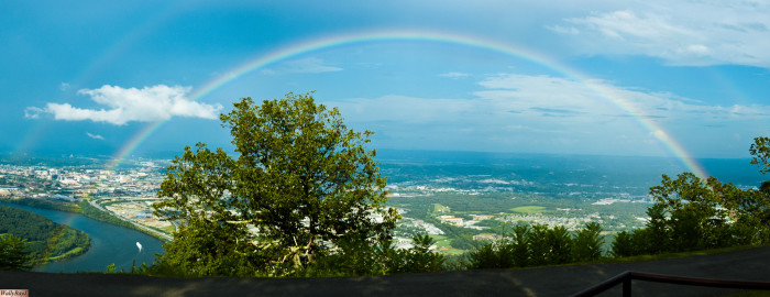 1) This Chattanooga rainbow earns number one - and we bet you know EXACTLY why. It's great.