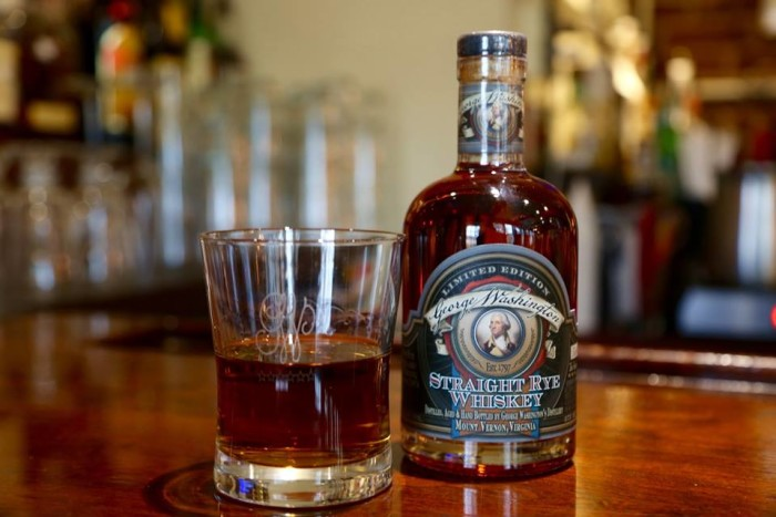 1. George Washington wasn't only a founding father and first President of the United States, in 1799, he was the largest producer of whiskey in the newly formed nation.