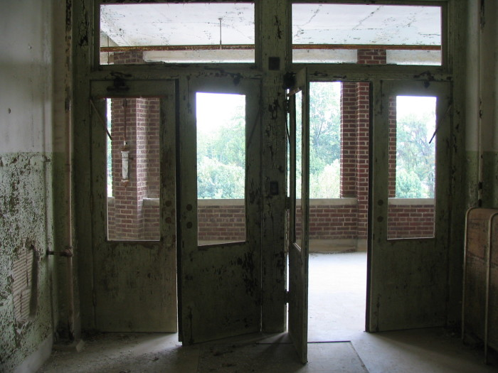 Waverly Hills room with a view.