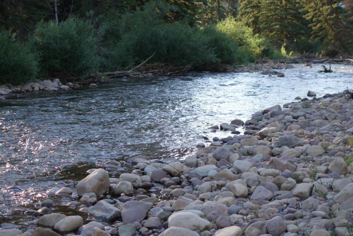 12. The Weber River