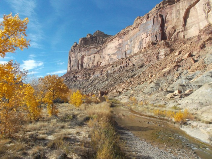 23. Wesley Jones submitted this photo of the San Rafael Swell. What a gorgeous day!