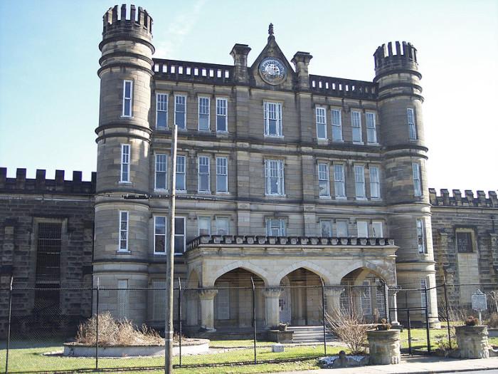 9. The West Virginia Penitentiary