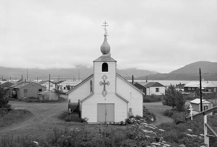 8) Three Saints Russian Orthodox Church in Old Harbor