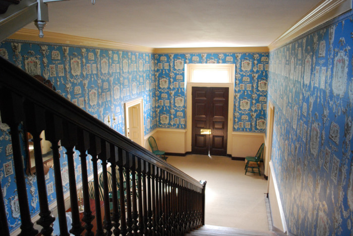 Wythe house stairs
