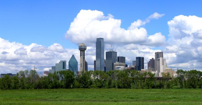 1) Dallas-Fort Worth-Arlington