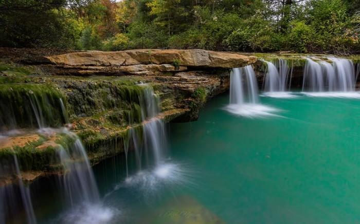 5. Rick Morrison took a great shot of Albert Falls.