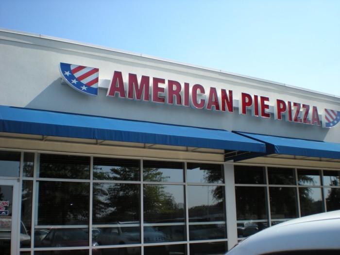 11. American Pie Pizza
