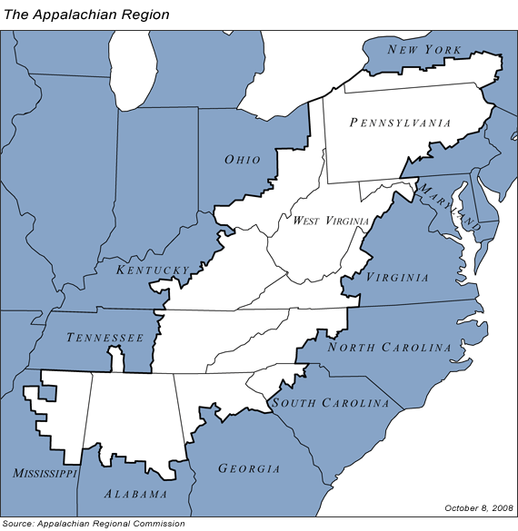 1. Mispronouncing Appalachia.