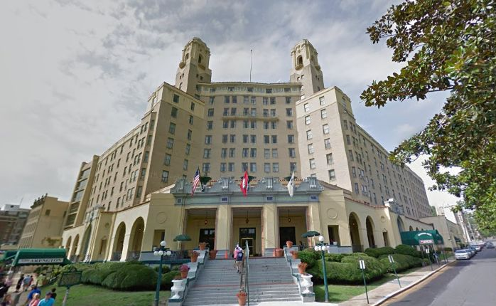 4. The ghosts of the Arlington Resort in Hot Springs say you can check out anytime you like, but you can never leave.