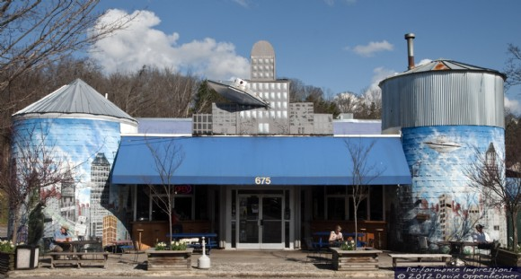 3. Asheville Pizza and Brewing