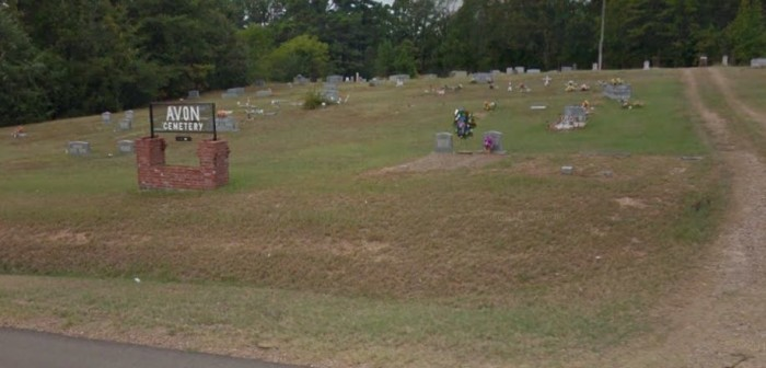 5. Visit the mother and her child at the Avon Cemetery in De Queen.