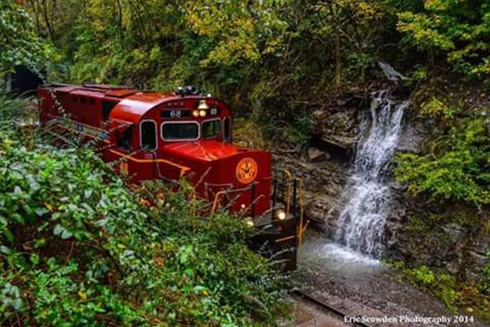 11. A&M Train by Eric Scowden