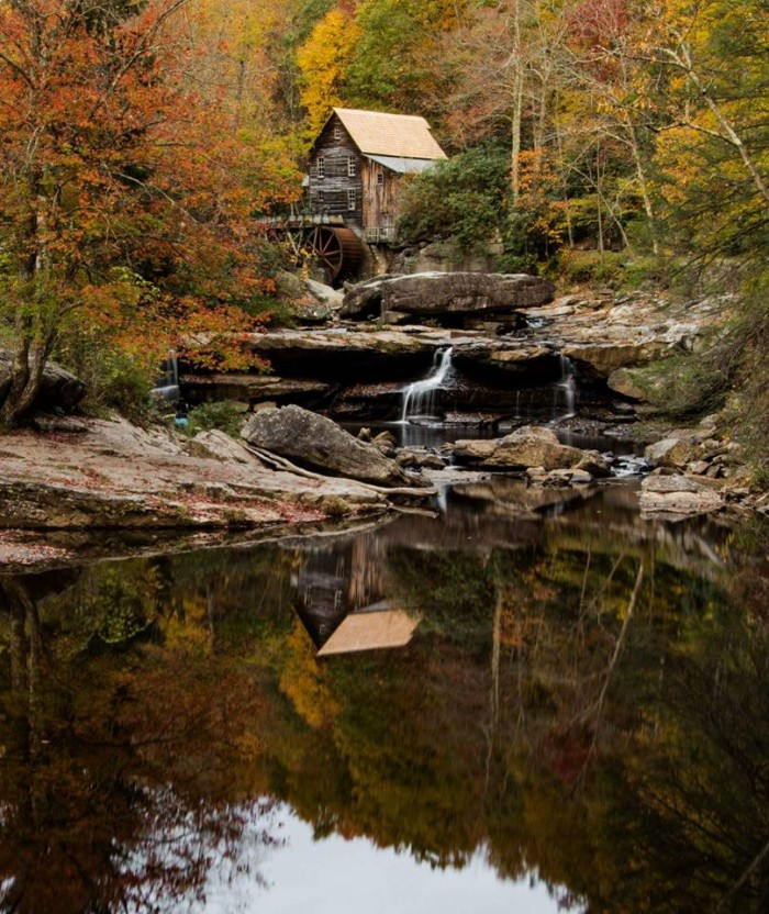 18. Cassie Chester submitted this great shot of a waterfall at Babcock State Park. I never get sick of this view.