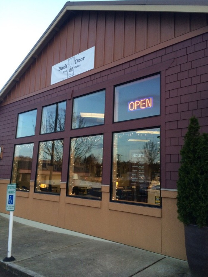 8. The Back Door Bakery, Lacey