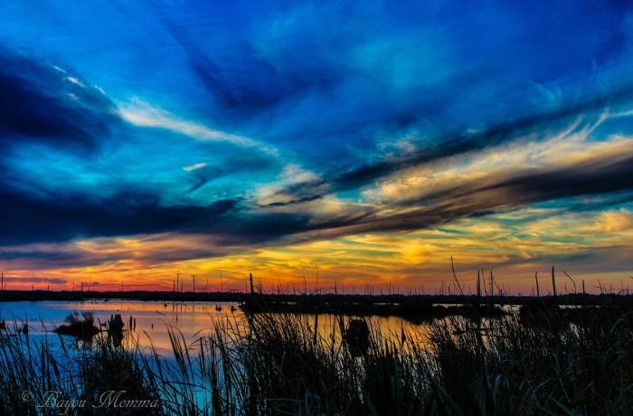 4) DuLarge, LA Sunset by Bayou Mama Photography