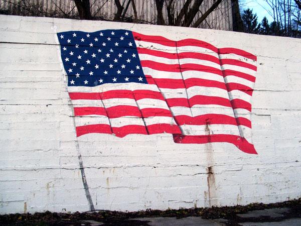 8. Being unpatriotic.