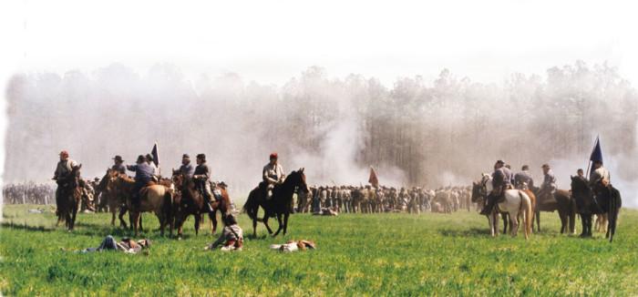 8. Bentonville Battlefield, Four Oaks