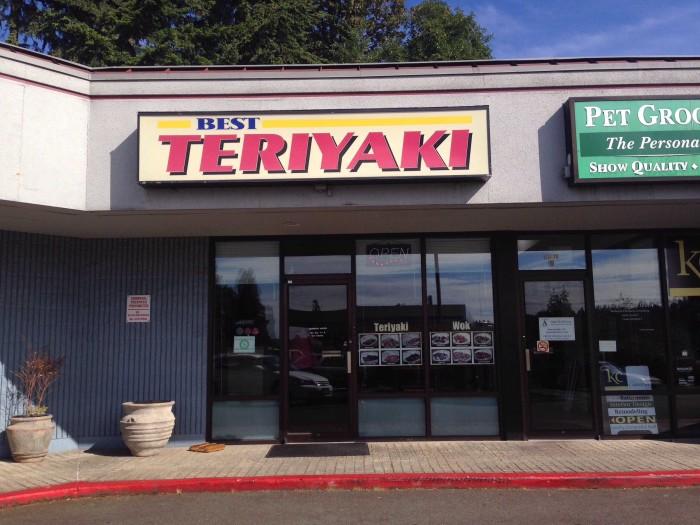 3. Best Teriyaki & Wok, Bothell
