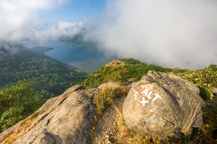 14. From any jaw-dropping spot, such as Breakneck Ridge.