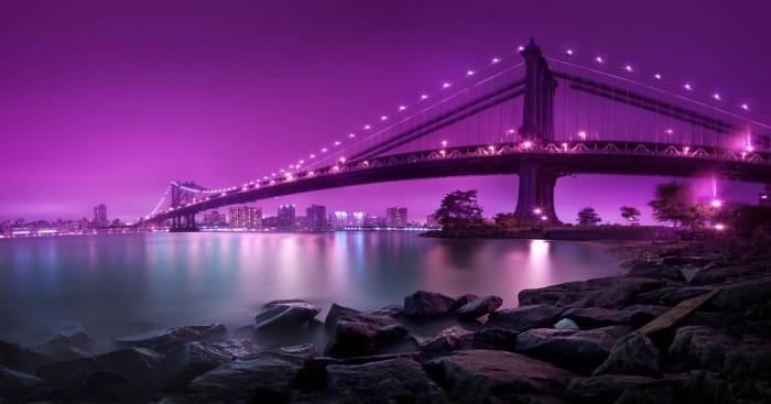 3. The Manhattan Bridge would agree.