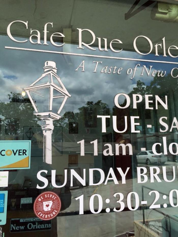 1. Cafe Rue Orleans