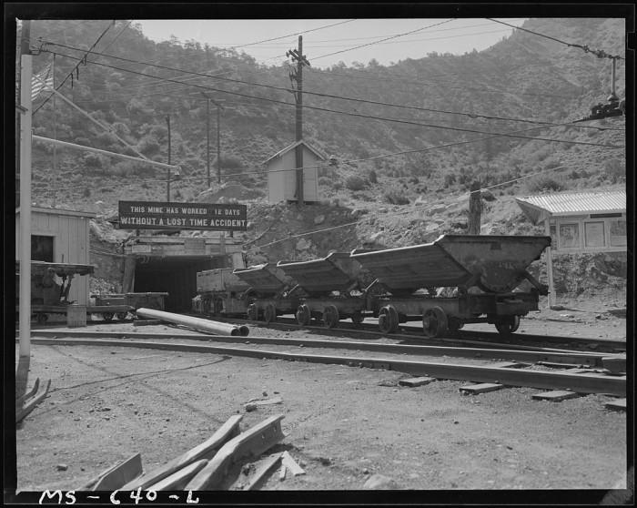 9) Castle Gate Coal Mine
