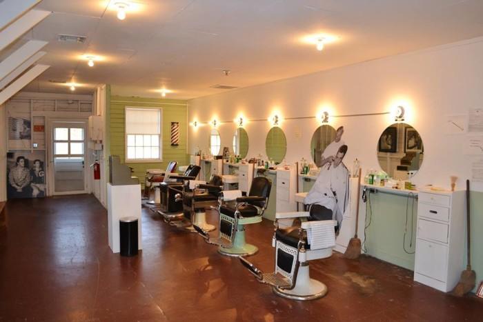 9. Fort Chaffee Barbershop