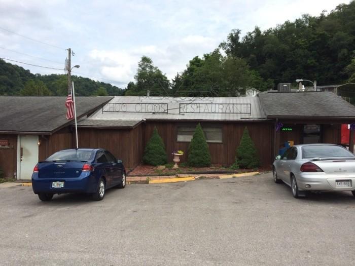 7. Choo Choo's Restaurant in New Martinsville