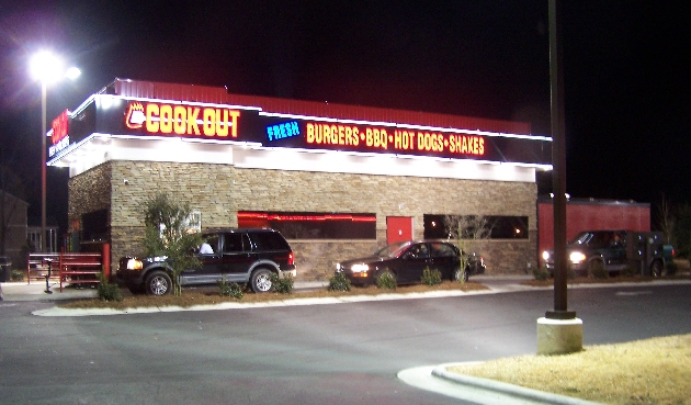 15. Cookout, Statesville