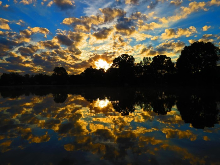 11) I love the reflection in the water.