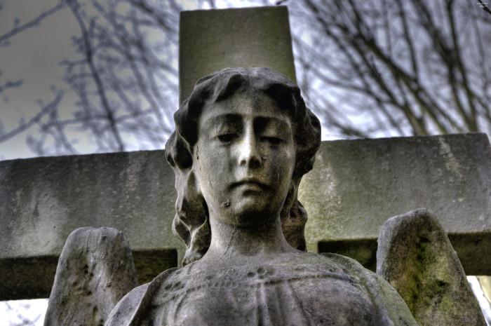 5. The Weeping Angel, Shellsburg Cemetery