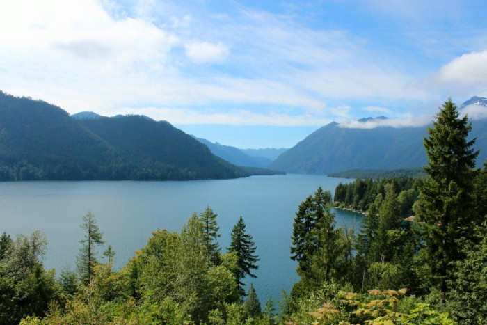 5. Patty Gonzalez snapped this amazing photo of Lake Cushman on a sunny day!