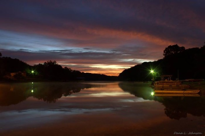 2. Twilight on Lake Avalon by Dana Johnson