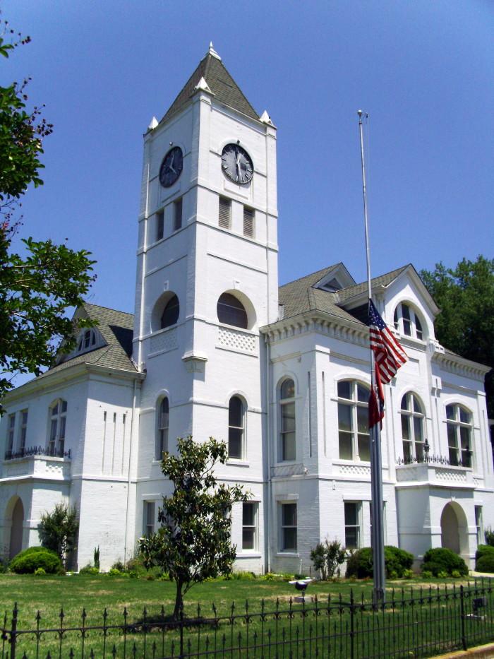 8. Desha County Courthouse Menace